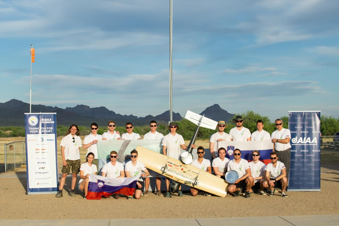 Slovenia's University of Ljubljana wins 23rd Annual Student Design/Build/Fly Competition