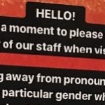 Restaurant asks customers to 'not presume gender of our staff' – NEWS.com