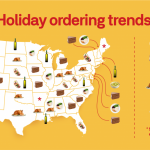 Holiday Habits: Postmates' Food Delivery Trends