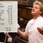 Gordon Ramsay restaurant charges customer $830 for dinner for two – NEWS.com